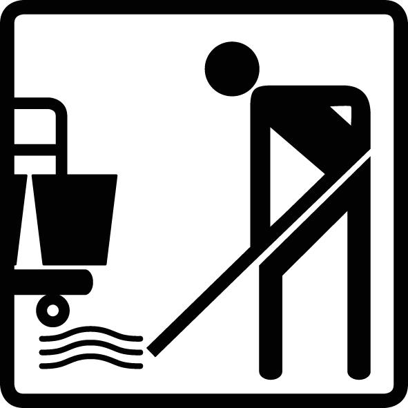 Bodenreinigung manuell