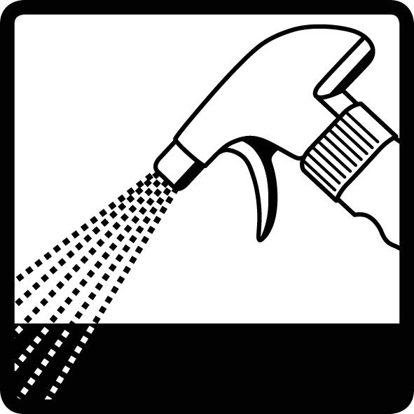 Reinigung manuell