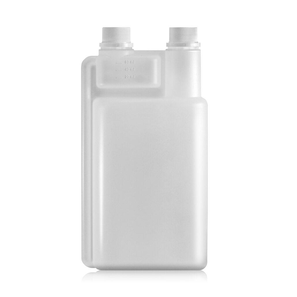 2-neck Flasche