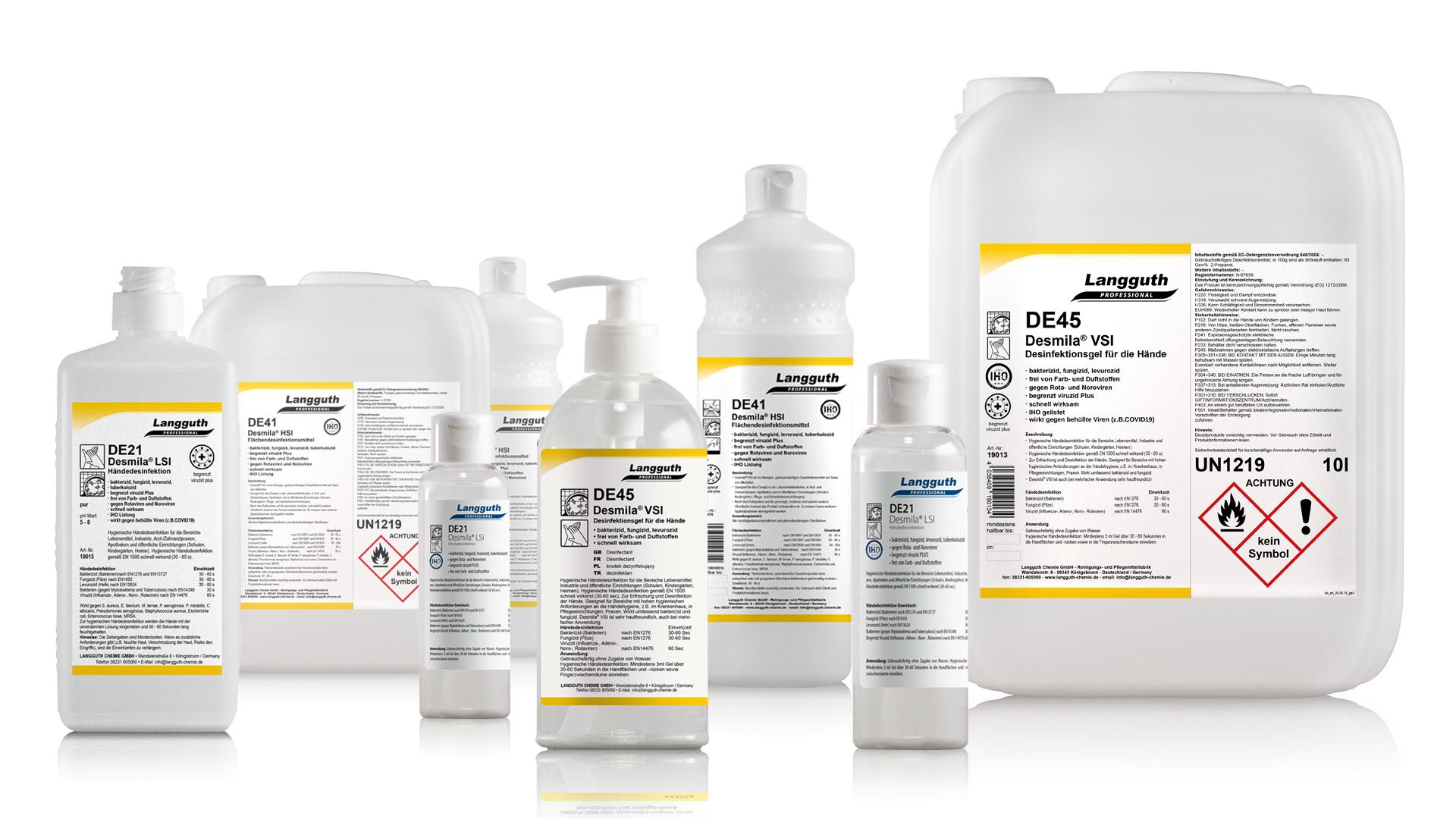 desinfektionsmittel-übersicht