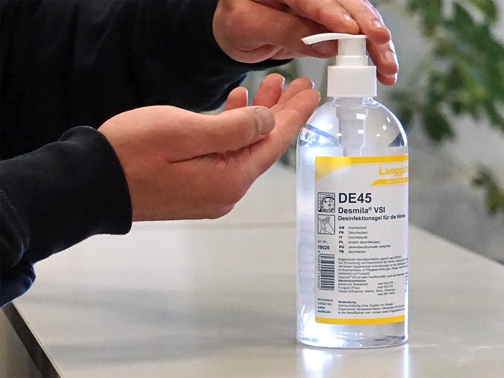 DE45 Dispenser Anwendung