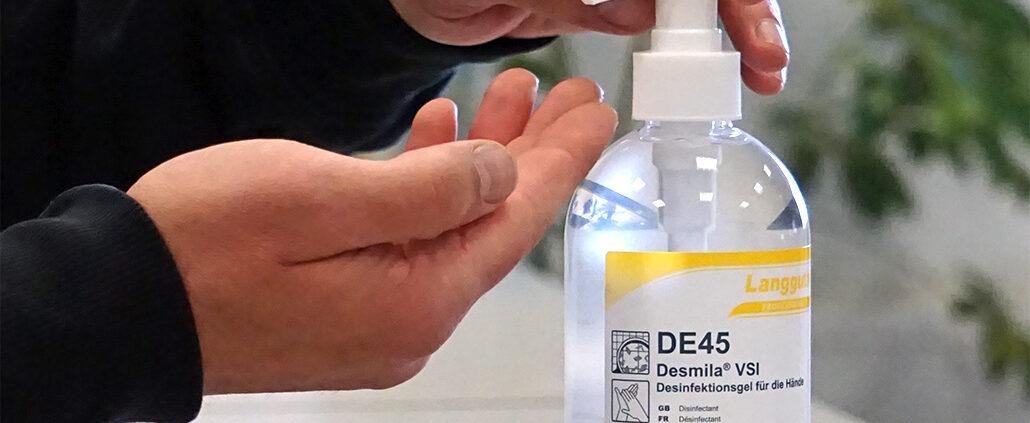 DE45 Dispenser Anwendung Head