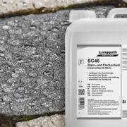 Steinimprägnierung SC45 Stein- und Fleckschutz im Einsatz