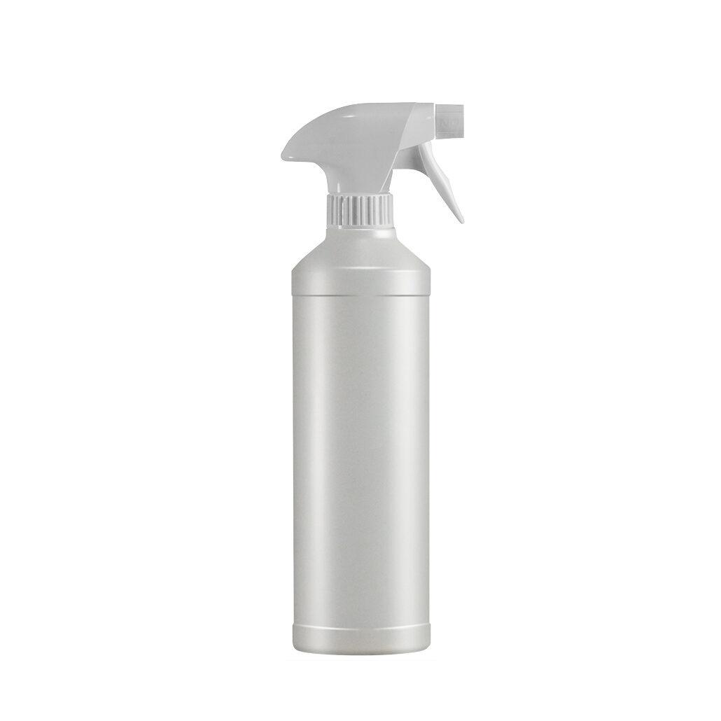 Leergebinde 500 ml Rundflasche mit Sprühkopf